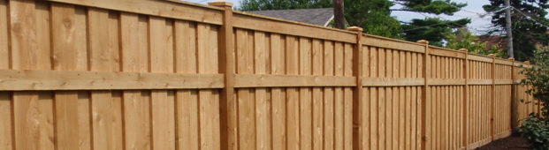 Custom Built Wood Fences